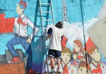 Почти полкилометра набережной покроют граффити... с одобрения мэрии  Архангельска